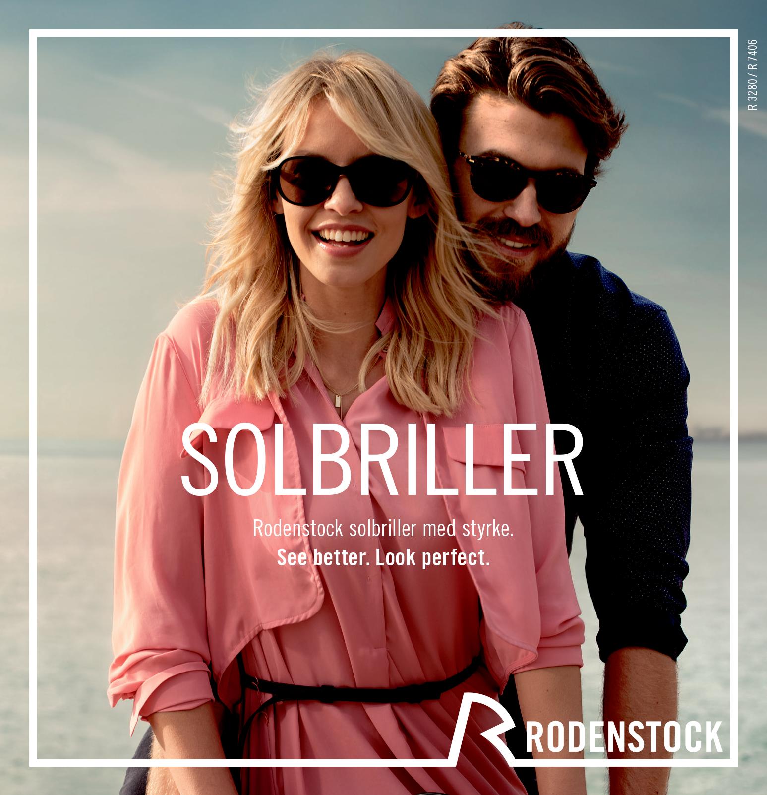 d1ac2c08f648 Rodenstock solbrille tilbud - Pernille Damgaard Optik